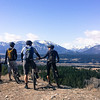 <b>13 April 2014</b> First ride of the year - Adriann, Adam, Allan and Felix on the Juniper trails