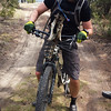<b>21 April 2014</b> Greg's Invermere bike bling - rocking the Kloosifier