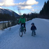 <b>14 Feb 2014</b> Valentine's day bikeride with Finn (and Alex)