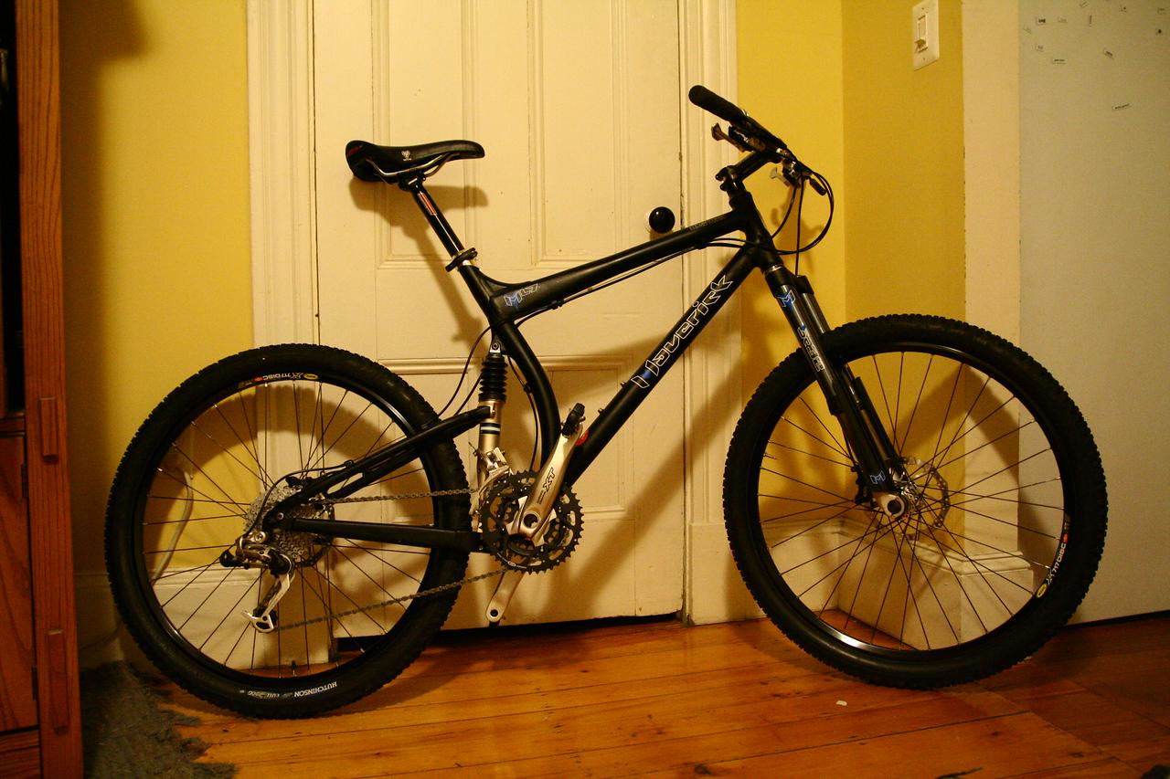 Maverick ML7.  I've had some fantastic times on this bike.