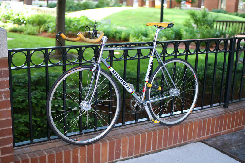 I'm glad I don't have to limit myself to a single bike.  I'd miss this one almost as much as I miss the Nighthawk.  Or maybe not.  This thing was fun mainly when I was slicing through traffic at unsafe speeds.  Once I lost my taste for that, I mostly stopped riding it.  I sold it to make room for other bikes.