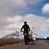 <b>12 April 2011</b> Biking back on the dry trail