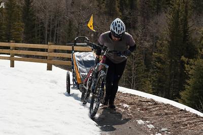 2011 Biking around the Bow Valley