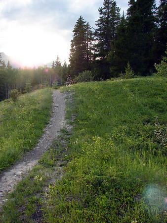 2008 Biking round Bow Valley