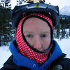 18 Dec 2008 - Icy eyelashes and wonky balaclava - about minus 22oC out