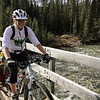 Reaching the Cascade River bridge (and then stopping for lunch)