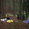 <b>14 Sept</b> Camp in the forest