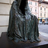 <b>13 Sept</b> Prague statue (Anna Chromy - Commendator)