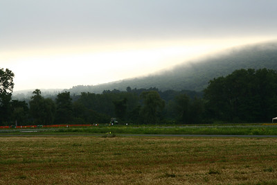 Another misty morning in the valley on sunday.