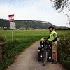 <b>5 Oct</b> And a few kilometres later and we're cycling out of Liechtenstein and into Austria