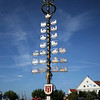 <b>7 Oct</b> A maypole - a common sight through Austria and Southern Germany/Bavaria, they're erected by the town on the first of May, and have little symbols representing the professions of everyone in the town, as well as all sorts of other symbolic type decorations.