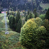 <b>6 Oct</b> Riding the cable car back down again - so we have time to go and hit up the Sauna/Spa bathing place afterwards