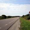 <b>28 Aug</b> Riding west out of Tallinn, along the coast - and an Estonian moose?