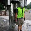 <b>27 Aug</b> Alex hides in the Sibelius monument