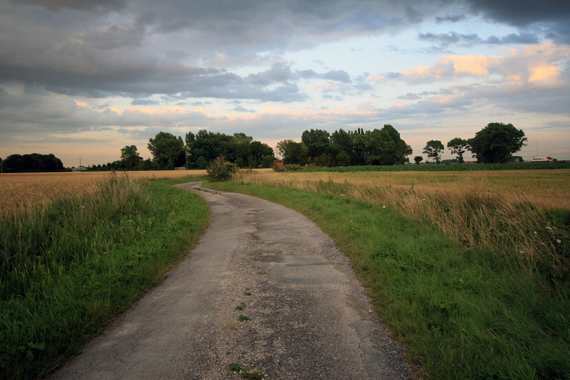 <b>13 July</b> Our first night in France, zig-zagging north-east on tiny roads through farmland as the sun gets lower and lower