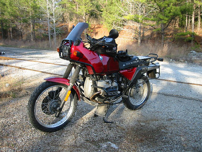 1994 R100GS - sold in April 2007 to a fellow ADV'er from upstate NY. Adios, old buddy.