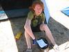 "Megan, a bit warm post-lap <br>©<a href=""http://r.smugmug.com"">Richard Smyth</a>"