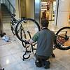 <b>Day One</b> Assembling bikes in Chitose airport, Hokkaido