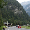 <b>26 Sept</b> The mountains get steeper and steeper as we cycle along our bike path