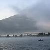 <b>27 Sept</b> Misty morning over the Zeller See, Austria