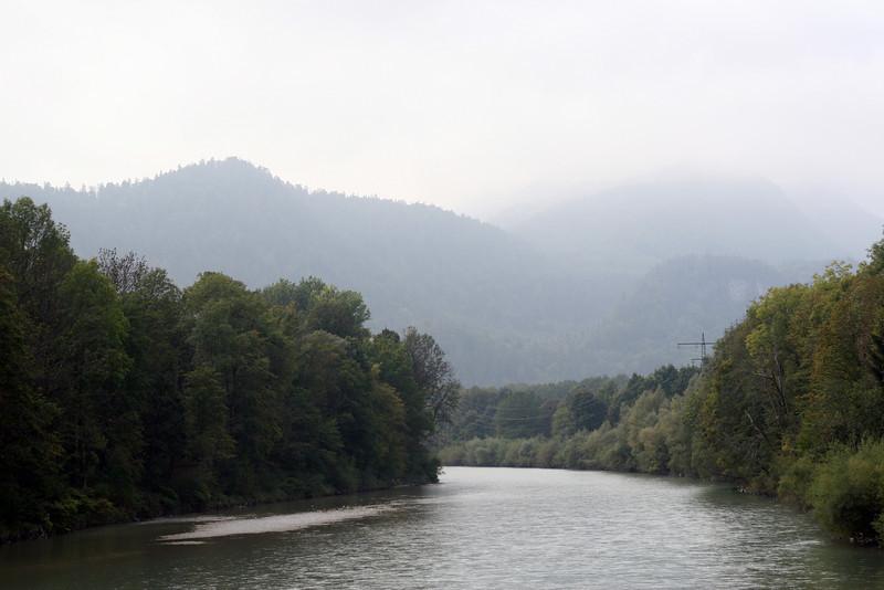 <b>26 Sept</b> Outside Bad Reichenhall, a very foggy morning