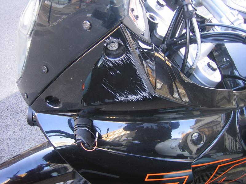 dumbass taxi driver damage