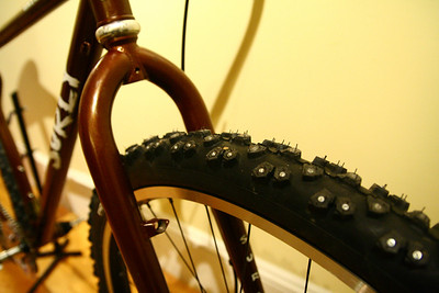 Studded tires for snow and ice from Nokian.