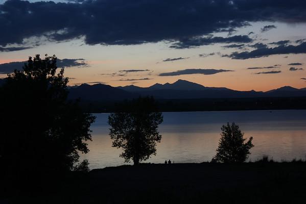 Long's Peak Sunset