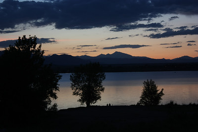 Long's Peak Sunset