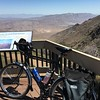 Anza Borrego overlook off S1, Pacific Crest Trail runs next to this deck