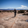 <b>10 April 2013</b> Moab brand trails - first slickrock