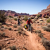 <b>10 April 2013</b> First ride in Moab!  Gear shakedown on the Moab brand trails