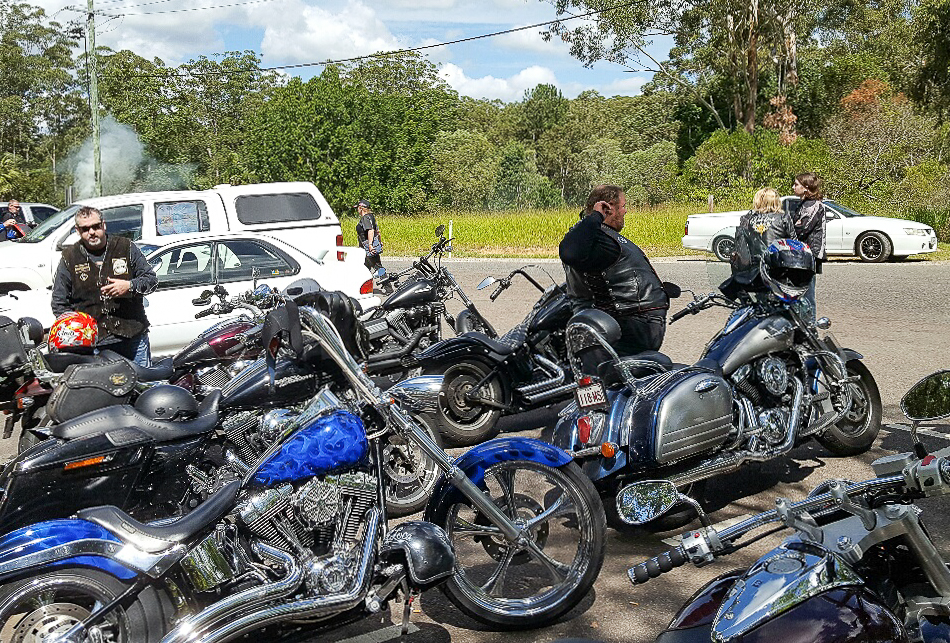 Photo shot by Jak. Steel Horses North Ride on Sunday 16th April 2017.