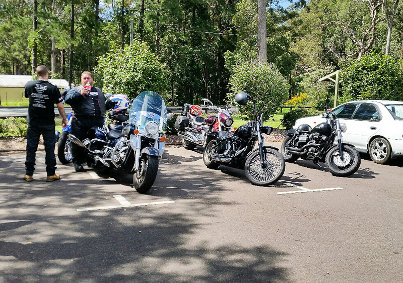 Photo shot by Phoenix. Steel Horses North Ride on Sunday 16th April 2017.