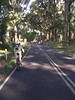 3.6.2006. Cruising down the St.Andrews-Kinglake road