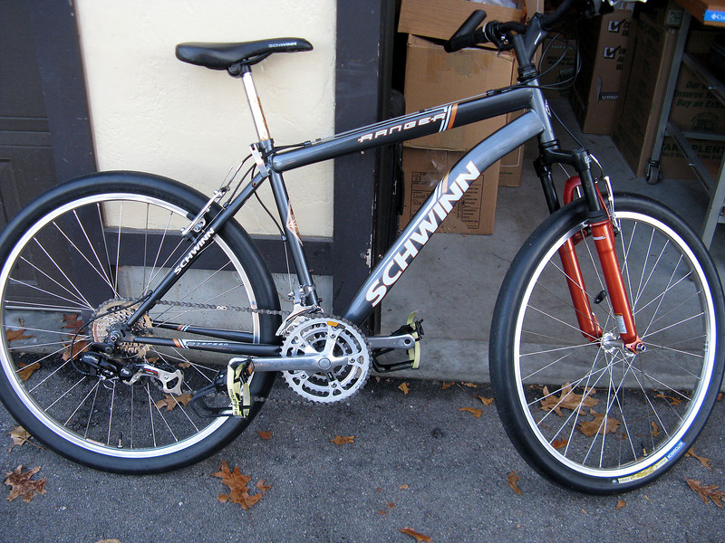 ...new brake cables (inner & outer), brake-blocks, gear cables (inner & outer); plus TLC...