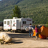 <b>26 July 2013</b> Moving camp - down the road to some awesome lake-side sites