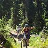 <b>26 July 2013</b> Frisby Ridge - woohoo, bikes!