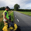 Alex and our little country road