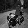 <b>7 Aug</b>We found a good dirt track that took us straight towards Oslo, nice and quiet and away from the traffic.