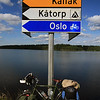 <b>6 Aug</b>We start following signs pointing to Oslo