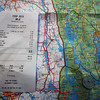 <b>6 Aug</b> Route planning onwards (so many lakes!), and the first Norwegian grocery bill