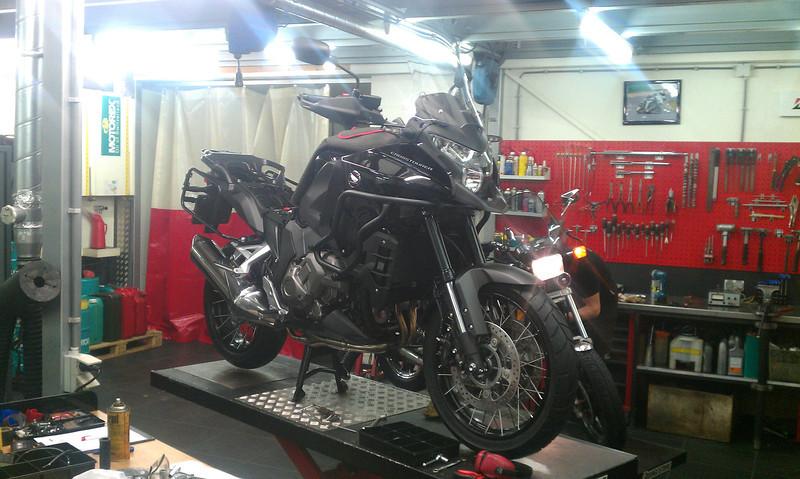 The new bike of a friend...