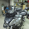 Higher MRA screen, SW-motech hand guards, Givi crash guards, Beowulf radiator guard, H&B cases