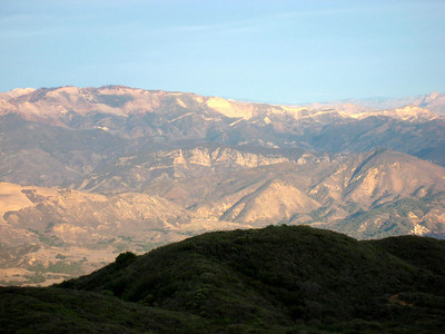 View of the back country (great light)
