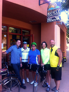 Group photo taken by Jenny (Bike Kitchen in SLO)