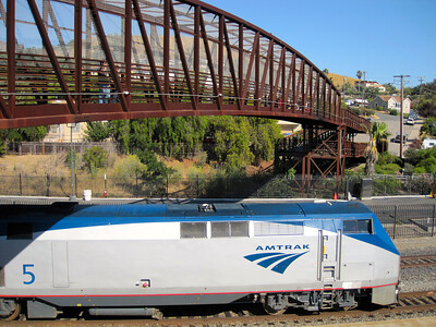 Nice bridge by the Amtrak train station in SLO