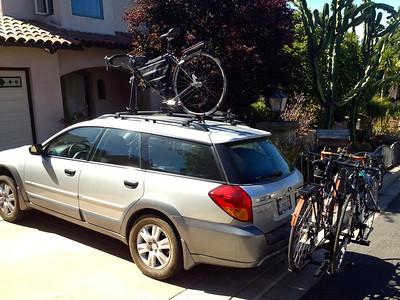 Car is loaded.