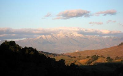 Snow on Figueroa Mountain (02/2007)