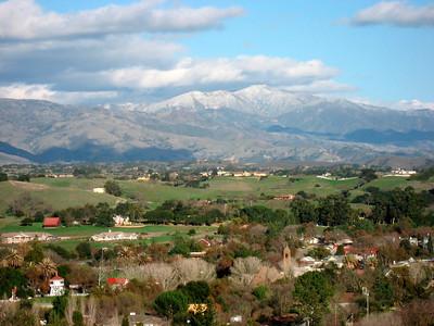 View on Los Olivos